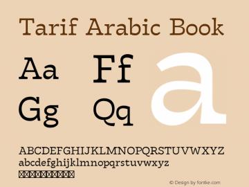 Tarif Arabic Book Version 1.000 | w-rip DC20190820图片样张