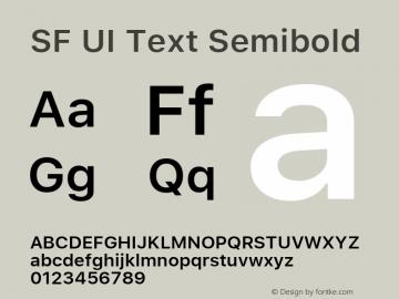 SFUIText-Semibold 11.0d59e2图片样张