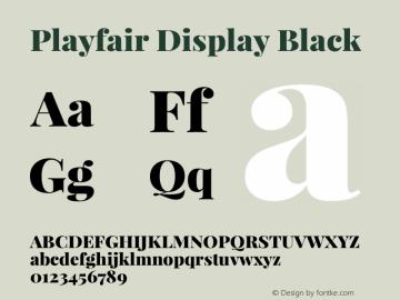 Playfair Display Black Version 1.004;PS 001.004;hotconv 1.0.70;makeotf.lib2.5.58329; ttfautohint (v0.96) -l 42 -r 42 -G 200 -x 14 -w