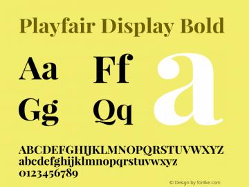 Playfair Display Bold Version 1.004;PS 001.004;hotconv 1.0.70;makeotf.lib2.5.58329; ttfautohint (v0.96) -l 42 -r 42 -G 200 -x 14 -w