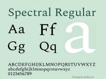 Spectral Regular Version 2.002图片样张