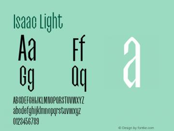 Isaac Light 0.1.0图片样张
