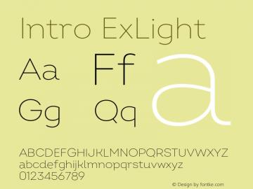 Intro ExLight Version 2.000;hotconv 1.0.109;makeotfexe 2.5.65596图片样张