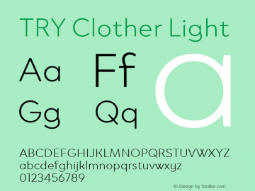 TRY Clother Light Version 1.0图片样张