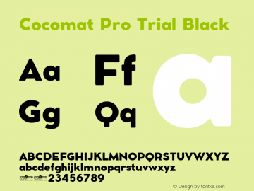 Cocomat Pro Trial Black Version 1.000图片样张