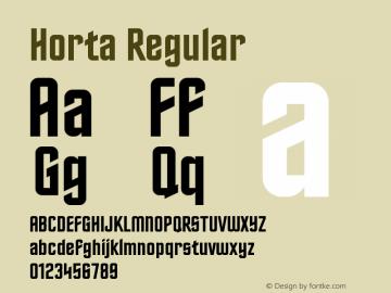 Horta Version 0.11图片样张
