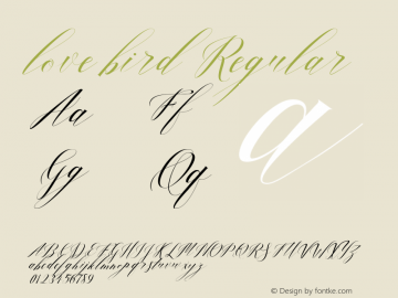 lovebird Version 1.000图片样张