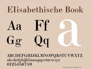 EIisabethische Version 1.3图片样张