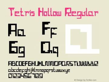 Tetris Hollow Version 001.000图片样张