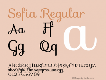 Sofia Version 1.001图片样张