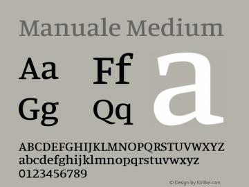 Manuale Medium Version 0.075图片样张