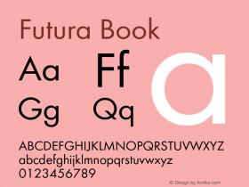 Futura-Boo Version 1.000;PS 1.00;hotconv 1.0.57;makeotf.lib2.0.21895图片样张