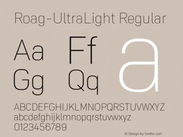 Roag W05 UltraLight Version 1.00图片样张