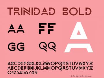 Trinidad-Bold Version 1.000图片样张