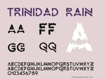 Trinidad-Rain Version 1.000图片样张