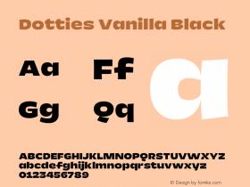 Dotties Vanilla Black Version 1.000;Dotties Chocolate图片样张