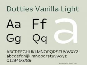 Dotties Vanilla Light Version 1.000;Dotties Chocolate图片样张