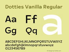 Dotties Vanilla Regular Version 1.000;Dotties Chocolate图片样张