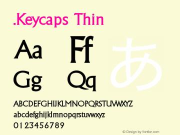 .Keycaps Thin 10.5d29e15图片样张