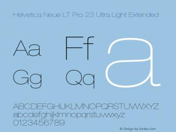 HelveticaNeueLTPro-UltLtEx Version 1.500;PS 001.005;hotconv 1.0.38图片样张