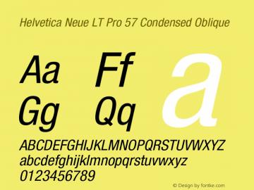 HelveticaNeueLTPro-CnO Version 1.500;PS 001.005;hotconv 1.0.38图片样张