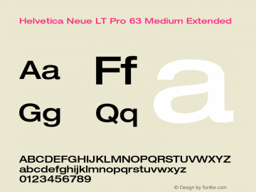 HelveticaNeueLTPro-MdEx Version 1.500;PS 001.005;hotconv 1.0.38图片样张