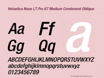 HelveticaNeueLTPro-MdCnO Version 1.500;PS 001.005;hotconv 1.0.38图片样张