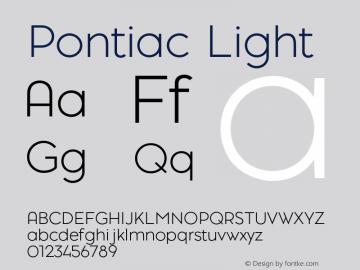 Pontiac-Light Version 1.00图片样张