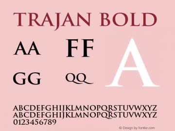 Trajan Bold Converter: Windows Type 1 Installer V1.0d.