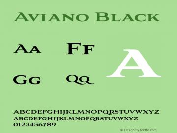 Aviano-Black 1.000图片样张