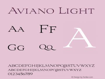 Aviano-Light 1.000图片样张