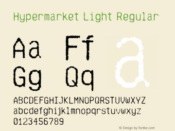 Hypermarket-Light Version 2.000 | wf-rip by NedMaker图片样张