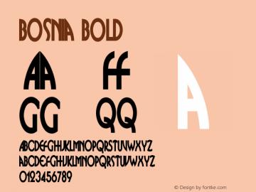BosniaBold Version 001.000 {DfLp-URBC-66E7-7FBL-FXFA}图片样张