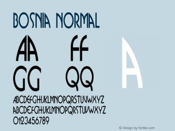 BosniaNormal Version 001.000 {DfLp-URBC-66E7-7FBL-FXFA}图片样张