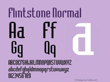 FlintstoneNormal Altsys Fontographer 4.1 2/1/95 {DfLp-URBC-66E7-7FBL-FXFA}图片样张