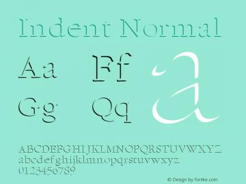 IndentNormal Altsys Fontographer 4.1 1/5/95 {DfLp-URBC-66E7-7FBL-FXFA}图片样张