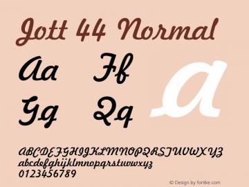 Jott44Normal 1.0 Wed Jul 28 17:39:36 1993 {DfLp-URBC-66E7-7FBL-FXFA}图片样张