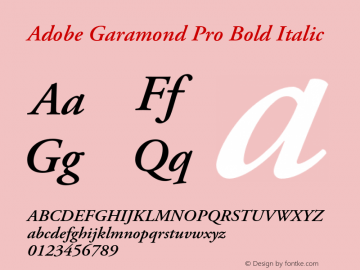 Adobe Garamond Pro Semibold Download - ▷ ▷ PowerMall