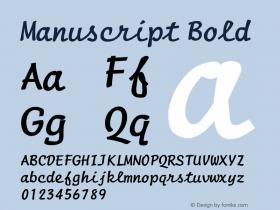 ManuscriptBold Altsys Fontographer 4.1 1/8/95 {DfLp-URBC-66E7-7FBL-FXFA}图片样张