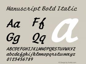ManuscriptBoldItalic Altsys Fontographer 4.1 1/8/95 {DfLp-URBC-66E7-7FBL-FXFA}图片样张