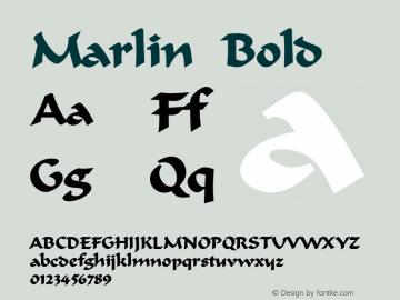 MarlinBold Altsys Fontographer 4.1 12/22/94 {DfLp-URBC-66E7-7FBL-FXFA}图片样张
