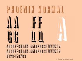 PhoenixNormal Altsys Fontographer 4.1 2/2/95 {DfLp-URBC-66E7-7FBL-FXFA}图片样张