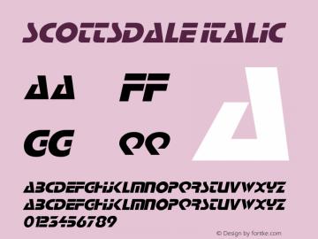 ScottsdaleItalic Altsys Fontographer 4.1 2/2/95 {DfLp-URBC-66E7-7FBL-FXFA}图片样张