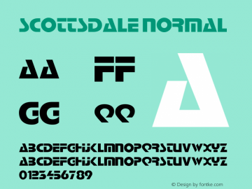 ScottsdaleNormal Altsys Fontographer 4.1 2/2/95 {DfLp-URBC-66E7-7FBL-FXFA}图片样张