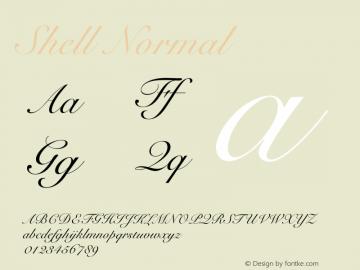 ShellNormal 1.0 Tue Oct 30 09:46:30 2001 {DfLp-URBC-66E7-7FBL-FXFA}图片样张