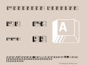 Typekeys Normal Version 1.000;PS 001.001;hotconv 1.0.38 {DfLp-URBC-66E7-7FBL-FXFA}图片样张