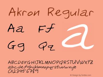 Akron Altsys Metamorphosis:3/3/95 {DfLp-URBC-66E7-7FBL-FXFA}图片样张