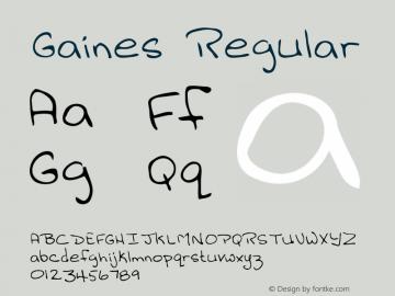 Gaines Altsys Metamorphosis:3/2/95 {DfLp-URBC-66E7-7FBL-FXFA}图片样张