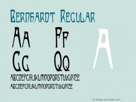 Bernhardt Regular Version 001.000图片样张