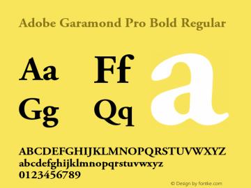 download font adobe garamond pro bold